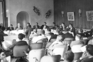 Garmisch conference panel