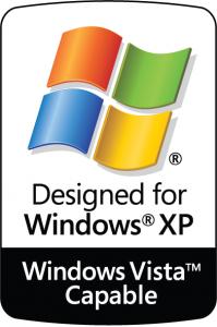 """The """"Windows Vista Capable"""" sticker"""